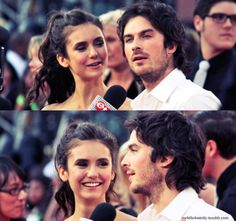 Much Music Video Awards 2011 - Nina Dobrev and Ian Somerhalder are the cutest! Both celebs' hair done by Kristjan Hayden of Civello Spa and Salon.