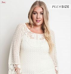 Title: Semi Sheer Lace Tunic Top  Semi Sheer Lace Tunic Top...CLICK THE PICTURE FOR MORE INFO.