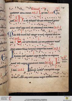 Antiphonarium Cisterciense Salem, um 1200 Cod. Sal. X,6b  Folio 78r
