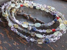 Sea Baubles Mixed Gemstone Multi Strand by MakingWavesCapeCod