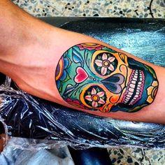 calavera mexicana tattoo valencia - Buscar con Google