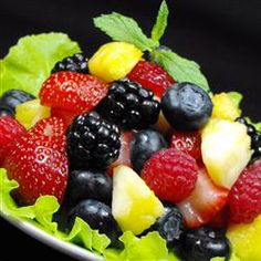 Low-Fat Recipes: Berry Fruit Salad - Free - The One-Day-Diet! - http://www.patriotproducts.org/usa/never-store-fat.php     http://allrecipes.com/Recipe/Berry-Fruit-Salad/Detail.aspx?src=rss -  #dinnerrecipes #dinner #entertainment #dessert