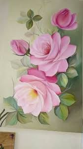 What is Your Painting Style? How do you find your own painting style? What is your painting style? China Painting, Tole Painting, Fabric Painting, Image Painting, Flower Crown Drawing, Flower Art, Pintura Tole, Fabric Paint Designs, One Stroke Painting