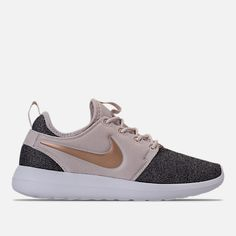 promo code 14528 433a3 Right view of Women s Nike Roshe Two Knit Casual Shoes in Light Orewood  Brown Blur
