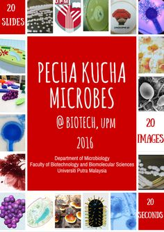 A Project called Thank A Microbe presented in Pecha Kucha format.