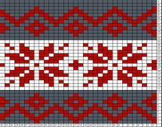 Tricksy Knitter Charts: nordic Best Picture For fair isle knittings leaves For Your Taste You are lo Tapestry Crochet Patterns, Fair Isle Knitting Patterns, Fair Isle Pattern, Knitting Charts, Loom Knitting, Knitting Stitches, Knit Patterns, Cross Stitch Patterns, Free Knitting