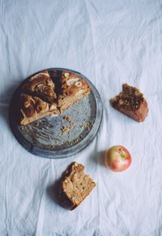 Apple cinnamon hazelnut cake.