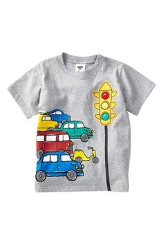 Mulberribush Traffic & Stop Light Tee (Baby & Toddler Boys)
