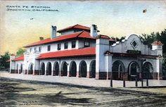 California Santa Fe Railway Stations - Google Search