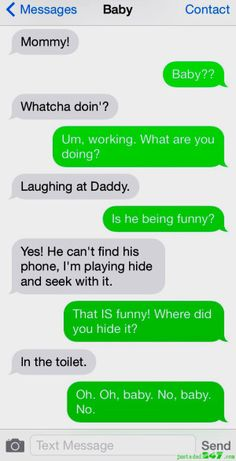 Baby Texts - #humor #parenting