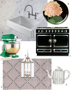 Carolyn's Calm & Classic Kitchen DREAM KITCHEN INSPIRATION