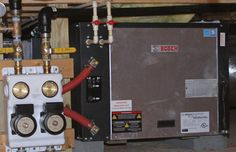 Geothermal Heat Pump Installation.  serenbe bosch home