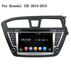 """8"""" 2 Din Android 5.1 HD Touch Screen 1080P GPS+BT+Radio+AUX IN+DVR+Mirror link Camera Car DVD Player For Hyundai I20 2014-2015"""