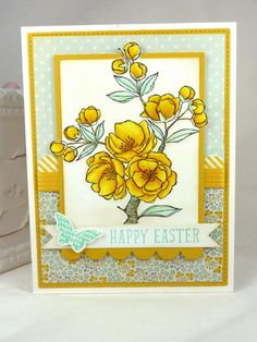 Stampin' Up! Indescribable Gift, Easter BeckyTE