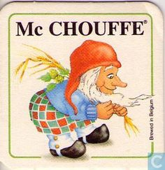 Beermat - Belgium - La Chouffe or Mc Chouffe that
