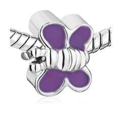 Purple Butterfly pandora