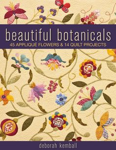 Beautiful Botanical  applique and quilts projects http://www.liveinternet.ru/users/gelexxx/post285218035