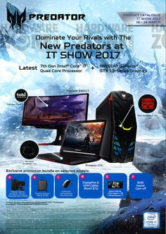 Acer Predator systems - page 1 Ace Logo, Computer Repair Services, Ad Layout, Art Drawings Sketches Simple, Web Banner, Acer, Predator, Flyers, Catalog