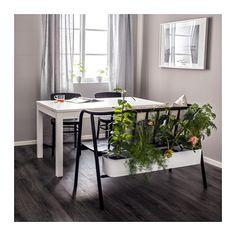 ANVÄNDBAR Benk med blomsterkasse  - IKEA