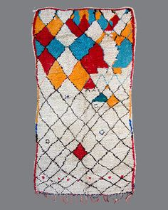 Breuckelen Berber, specializing in a carefully curated selection of fine vintage carpets from the Berber tribes of Morocco. Textiles, Textile Prints, Berber Rug, Carpet Runner, Rug Making, Rugs On Carpet, Vintage Rugs, Weaving, Moroccan Rugs