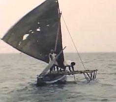 Polinezyjskie łodzie proa - Słone Żeglarstwo Plażowe