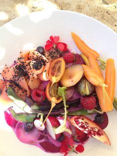 Red salad at Babel Babylonstoren Coffee Van, Food Styling, Cobb Salad, Salad Recipes, Salads, Veggies, Meals, Dinner, Breakfast