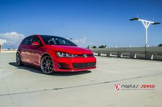 Volkswagen Golf GTI on BBS SR