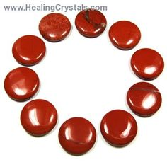 Red Jasper Coins (China) - Healing Crystals   Use Code HCPIN10 = 10% discount   We are having a sale on some of our Red, White and Blues crystals. Our Red Jasper coins are on sale.   http://www.healingcrystals.com/Coin_-_Red_Jasper_Coins__China_.html