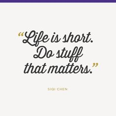 Life is short. Make it great. Let NOTHING take you down. ~Sophia Bush #in (via @levoleague)