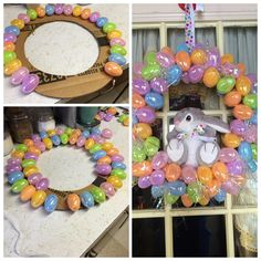 Easter Projects, Easter Crafts For Kids, Easter Ideas, Holiday Fun, Holiday Crafts, Diy Easter Decorations, Easter Activities, Easter Holidays, Easter Wreaths