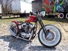 Sportster bobber | Bobber Inspiration - Bobbers and Custom Motorcycles December 2014