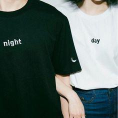 Fashion Blusas 2017 Summer Style Tee Shirts Korea Ulzzang Harajuku Women O-neck Short Sleeved Print T-shirt Casual Loose Tops Casual T Shirts, Tee Shirts, Shirt Men, Casual Tops, Broderie Simple, Sun Shirt, Shirt Embroidery, Embroidered Shirts, Couple Outfits