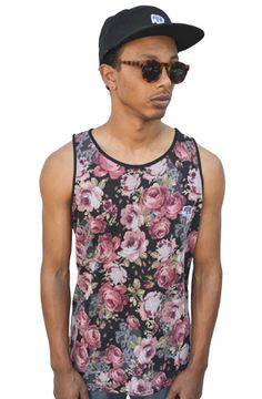 Rozay Tank Top in Floral by Radisrad