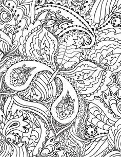 Coloriage Doodle Papillon Tres Difficile A Imprimer