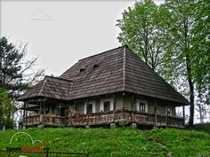 MUZEUL-SATULUI-BUCOVINEAN-SUCEAVA-1-Casa-Rosu Romania, My House, Gazebo, Outdoor Structures, House Design, Traditional, House Styles, Moldova, Cottages