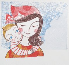 Let's go on an adventure - original screen print, Lisa Stubbs