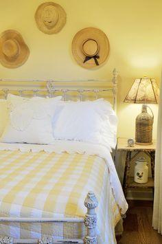 Adeeni Design Group: guest bedroom in a farmhouse in Walnut Creek, CA