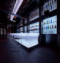 Wunderbar Lounge Montreal by Peter Chase | Inspiration Grid | Design Inspiration