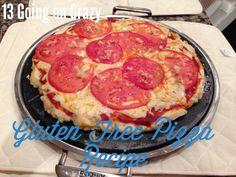 AMAZING Gluten Free Pizza Crust Recipe