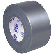 "3"" x 60 yds Economical Silver Duct Tape"