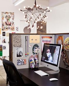 Creative #cubicle #decor