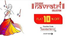 Save 10% on Each Item. HAPPY NAVRATRI Buy Best To Look Best To place order please contact our team at M: 91 8284833733 or email us at care@zikimo.com http://ift.tt/20bBBFu - http://ift.tt/1HQJd81