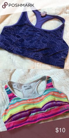 c594d154844a8 Lightly Worn Sports Bras Cute Colors - Just don t fit anymore. Purple -