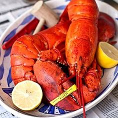 Steamed Lobster - an easy and decadent idea for a special Holiday dinner.