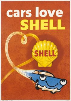 Vintage posters | Shell oils | classic posters