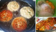 Netvrdím, že zdravá, leč velmi chutná a vydatná večeře. Pro děti třeba s bramborovou kaší, pro dámy se zeleninovým salátkem a pro pány s plátky nasucho opečeného bílého chleba, hořčicí a kupou cibule... Autor: Mineralka Cheese Fries, Fried Cheese, Mashed Potatoes, Muffin, Food And Drink, Vegan, Chicken, Cooking, Ethnic Recipes