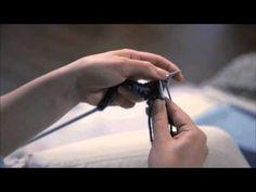 NovitaTube, How to videos (in Finnish), Ainaoikeinneule (vasenkätinen) #novitaknits #knitting