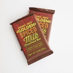 Pick Up: Golden Spiced Milk Chocolate Bar ($1)