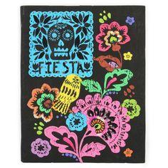 Fiestaval stitched notebook