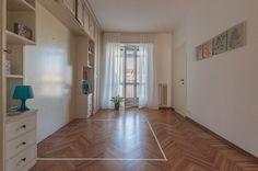 Home staging in collaborazione con  Marrese arredamenti - Appartamento vuoto a Torino - Zona Crocetta - 110mq - Camera matrimoniale - (03/2016)